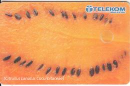 MALAYSIA(chip) - Watermelon, Telecom Malaysia Telecard RM10, Chip GEM3.1, Used - Malaysia