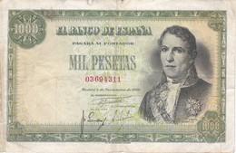 BILLETE DE 1000 PTAS DEL AÑO 1949 DE SANTILLAN (BANKNOTE) - 1000 Pesetas
