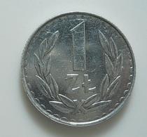Poland 1 Zlotych 1987 - Polonia