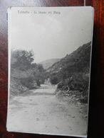 16559) LIBIA TOLMETTA STRADA DEL MERG NON VIAGGIATA DATATA 1914 A MATITA - Italia