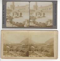 Circa 1880 PALERME 2 STEREO ITALIE ITALIA PHOTO STEREO /FREE SHIPPING REGISTERED - Photos Stéréoscopiques