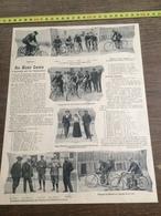 1903 A MONT CENIS L ASCENSION PAR LES MOTOCYCLETTES ECURIE ROSSELLI WERHEIM TAMAGNI MAFFEIS - Collezioni