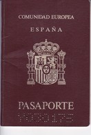 ESPAÑA SPAIN L'ESPAGNE 1995 FEMENINO FEMALE  PASAPORTE PASSPORT REISEPASS PASSAPORTO.-BLEUP - Documenti Storici