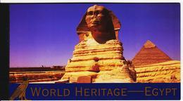 LOT807 UNO NEW YORK 2005 Michl MH 10 H-BLATT 53-58 EGYPT ** Postfrisch SIEHE ABBILDUNG - Markenheftchen