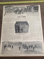 1903 LA GUERRE A LA POUSSIERE GOUDRONNAGE GUGLIELMINETTI - Vecchi Documenti