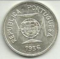 1/2 Rupia 1936 Portugal/India UNC - India