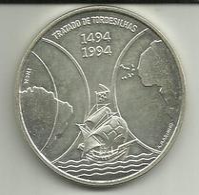 1000 Escudos 1994 Cabo Verde (Tratado De Tordesilhas) - Cape Verde