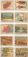 100-VIGNETTES Vers 1930 CHROMOS-CHOCOLATS PRUNIER/N°1 A 250-Ft7x5 Cm-BE - Chocolat
