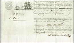 PORTUGAL, Conhecimento De Embarque, F/VF - Revenue Stamps