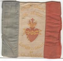 Ecusson Tissu à Coudre 1914-1918 - Sacré Coeur De Jesus - Espoir Et Salut De La France - Ecussons Tissu
