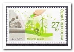 Tsjechië 2016, Postfris MNH, Europe, Cept, Green - Tsjechië