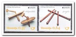 Slovenië 2014, Postfris MNH, Europe, Cept, Music Instruments - Slovenië