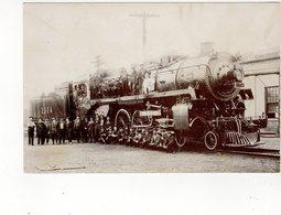 SUDBURY?, Ontario, Canada, Steam Train # 2304 & Crew, Resproduction For Sudbury Centennial In 1983 - Ontario