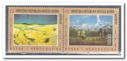Kroatië 1993, Postfris MNH, Europe, Cept, Nature - Kroatië