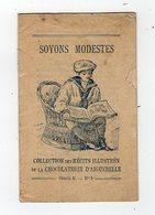 Mai18   81786     Petit Livret  Chocolaterie Aiguebelle - Andere