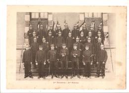 Militaria Photo Recto Verso 5ème Escadron Gradés 4ème Escadron Photo Issue D'un Album De 1901 Du 16 ème Dragons De Reims - Unclassified