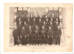 Militaria Photo Recto Verso 5ème Escadron Gradés 4ème Escadron Photo Issue D'un Album De 1901 Du 16 ème Dragons De Reims - Non Classificati