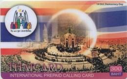 Prepaidcard Thailand - Thaicard - Democracy Day - Thaïland