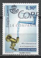 Spain 2013. Scott #3893 (U) International Year Of Water Cooperation * - 1931-Aujourd'hui: II. République - ....Juan Carlos I