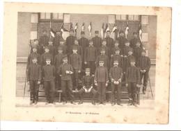 Militaria Photo Recto Verso 1er Escadron 1er Et 2ème Peloton Photo Issue D'un Album De 1901 Du 16 ème Dragons De Reims - Unclassified