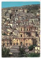 Sicilia Modica (Ragusa) Panorama – Duomo Di S. Giorgio Non Viaggiata - Modica