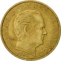 Monnaie, Monaco, Rainier III, 20 Centimes, 1962, TTB, Aluminum-Bronze, KM:143 - 1960-2001 Nouveaux Francs