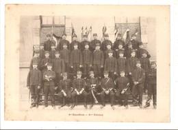 Militaria Photo Recto Verso 1er Escadron 3ème Et 4ème Peloton Photo Issue D'un Album De 1901 Du 16 ème Dragons De Reims - Unclassified