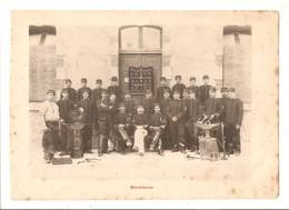 Militaria Photo Recto Verso Salle D'armes Et Maréchaux Photo Issue D'un Album De 1901 Du 16 ème Dragons De Reims - Unclassified