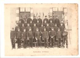 Militaria Photo Recto Verso 2ème Escadron 3ème & 4ème Peloton  Photo Issue D'un Album De 1901 Du 16 ème Dragons De Reims - Unclassified