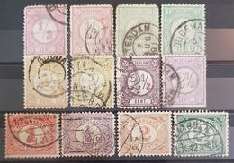 HOLLAND , Nederland , Netherlands , 1879-1899 , Used - Timbres