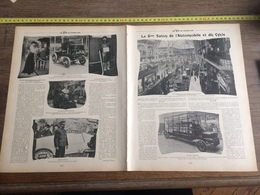 1903 6 EME SALON AUTOMOBILE ET CYCLE GRAND PALAIS NOUVELLE POMPE A VAPEUR DE PARIS VISITE PRESIDENTIELLE - Collezioni