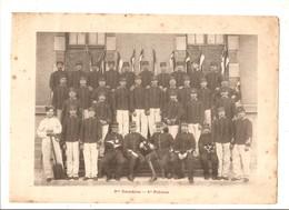 Militaria Photo Recto Verso 3 ème Escadron 1er 2ème Peloton  Photo Issue D'un Album De 1901 Du 16 ème Dragons De Reims - Unclassified