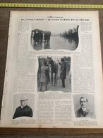 1903 HIPPISME COURSE DE CHEVAUX A AUTEUIL LE GRAND PRIX DE L ELEVAGE JOCKEY DE CAEN FLINT LUCIEN BARILLER - Vecchi Documenti