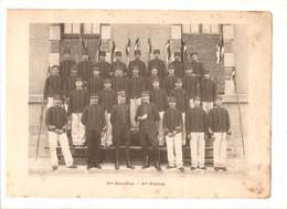 Militaria Photo Recto Verso 3 ème Escadron 3ème & 4ème Peloton Photo Issue D'un Album De 1901 Du 16 ème Dragons De Reims - Unclassified
