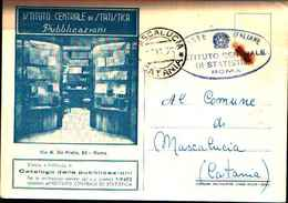 87804) Cartolina Di Roma-istituto Centrale Di Statistica-viaggiata - Enseignement, Ecoles Et Universités