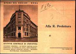 87805) Cartolina Di Roma-istituto Centrale Di Statistica-viaggiata - Enseignement, Ecoles Et Universités
