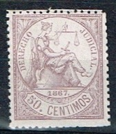 Derecho Judicial Antillas, 1867, 50c. - Fiscales