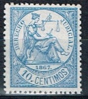 Derecho Judicial Antillas, 1867, 10c. - Fiscales
