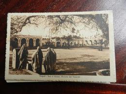 16570) LIBIA TRIPOLI SUK EL GIUMA MERCATO DEL VENERDI VIAGGIATA 1929 - Italia