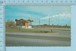Rouyn-Noranda Quebec - Le Kiosque De Renseignements Et Les Cheminées Par UNIC, Carte Postale, Postcard - Quebec