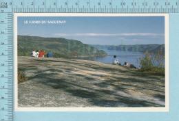 Saguenay Quebec - Le Fjord -  Carte Postale, Postcard - Quebec