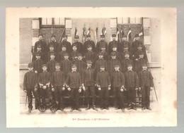 Militaria Photo Recto Verso 5ème Escadron 1ère, 2 ème Division Photo Issue D'un Album De 1901 Du 16 ème Dragons De Reims - Unclassified