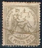 Derecho Judicial Antillas, 1879, 1,25p. - Fiscales