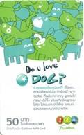 Mobilecard Thailand - 12Call - Do U Love Dog ? - Thaïland