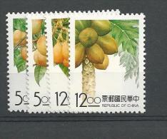 1993 MNH Taiwan Mi 2140-43, Postfris - 1945-... Republic Of China