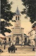 93 - PIERREFITTE - L'église - Belle Carte Gauffrée Colorisée - écrite - Edit. Cornu, Pierrefitte - Pierrefitte Sur Seine