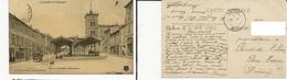 CP Valence Place Belat (carte Datée Du 1/12/1908) - Valence