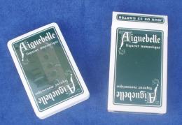 """Jeu De Cartes """"AIGUEBELLE"""" Liqueur Monastique. - 32 Cartes"""
