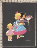 92972GF/ ENFANTS, Illustrateur FRANKIE - Kindertekeningen