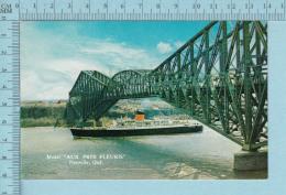 Neuville Quebec - Publicité Du Motel Pres Fleuris Pont De Quebec , Photo Par Yvan Bouchard - Carte Postale, Postcard - Autres